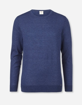 0151-11-19 Level Five Knitwear, body fit, Pullover crew neck