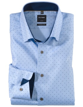 1202-84-11 Luxor, modern fit, Under-Button-down