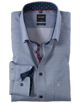 0580-64-18 Luxor, modern fit, Under-Button-down
